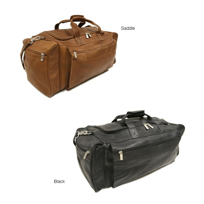 Piel Leather 23 Inch LargeTravel Duffel Bag - Thumbnail 0