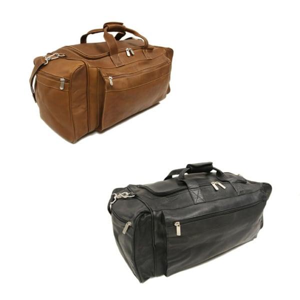 8b351aa4c8ef Shop Piel Leather 23 Inch LargeTravel Duffel Bag - Free Shipping ...