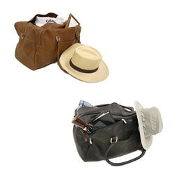 Piel Leather Carry-On Tote Bag