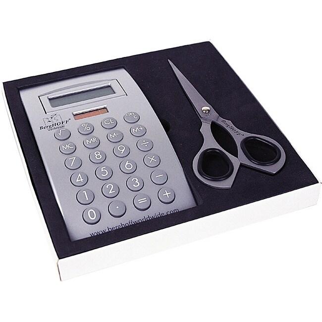 Calculator and Scissors