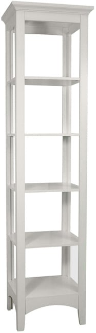 Classique White Linen Tower by Essential Home Furnishings