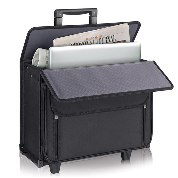 Solo Classic 17-inch Rolling Laptop Catalog Case