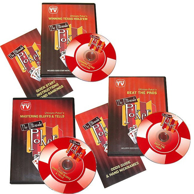 Ultimate Texas Hold 'em 'Be  a Champion' 3-DVD Set