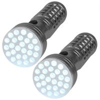 Aluminum Ultra-bright 26-bulb LED Flashlight (Set of 2)