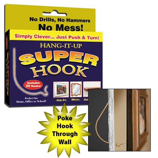 Hang-it-up Super Hooks (Set of 60)