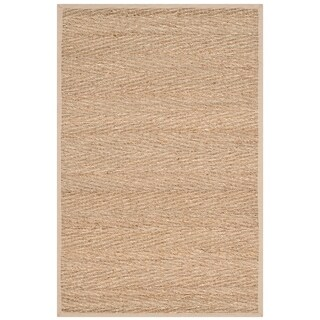 Safavieh Natural Fiber Traditional Natural / Beige Seagrass Rug - 2' x 3'