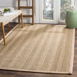 Safavieh Casual Natural Fiber Hand-Woven Sisal Natural / Beige Seagrass Rug (8' x 10')|https://ak1.ostkcdn.com/images/products/3166899/P11288274.jpg?impolicy=medium