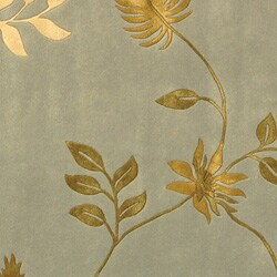 Safavieh Handmade Soho Twigs Light Blue New Zealand Wool Rug (6' Square) - Thumbnail 1