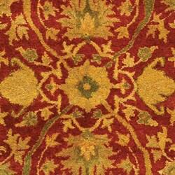 Safavieh Handmade Antiquities Mahal Rust/ Beige Wool Rug (4' x 6') - Thumbnail 1
