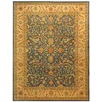 Safavieh Handmade Antiquities Mahal Blue/ Beige Wool Rug - 8'3 x 11'