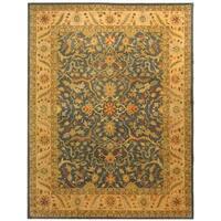 "Safavieh Handmade Antiquities Mahal Blue/ Beige Wool Rug - 8'3"" x 11'"