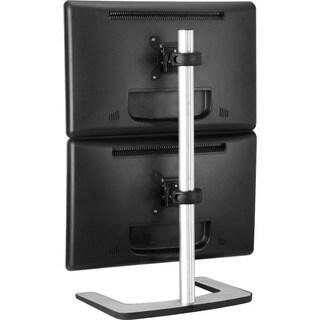 Visidec Freestanding Dual Vertical Display Mount