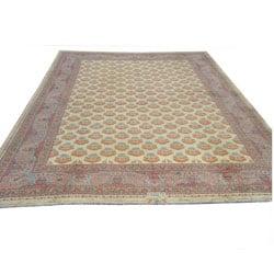 Herat Oriental Rare Antique Meshkabad Persian Wool Rug (26'9 x 37')