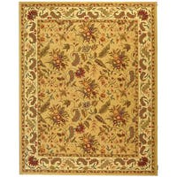 Safavieh Handmade Paradise Ivory Wool Rug - 7'9 x 9'9