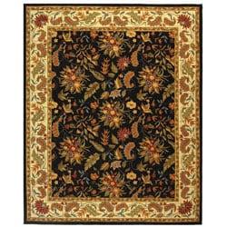 Safavieh Handmade Paradise Black Wool Rug (7'9 x 9'9)