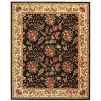 "Safavieh Handmade Paradise Black Wool Rug - 7'9"" x 9'9"""
