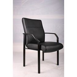 Attrayant Boss LeatherPlus Bonded Leather Guest Chair