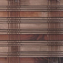 Arlo Blinds Guinea Deep Bamboo Roman Shade (25 in. x 74 in.)