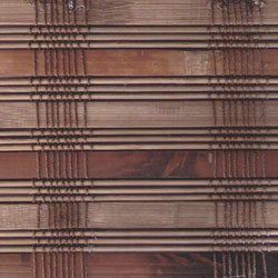 Arlo Blinds Guinea Deep Bamboo Roman Shade (63 in. x 74 in.)