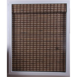 Arlo Blinds Guinea Deep Bamboo Roman Shade (65 in. x 98 in.)