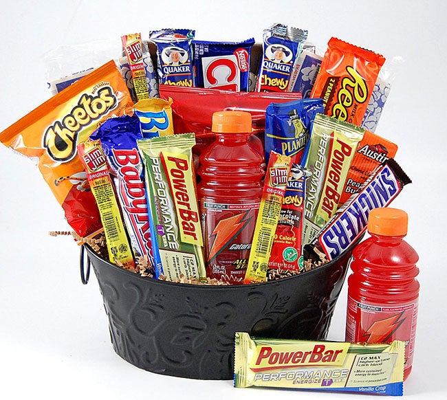Shop High Energy Snacks Gift Basket - Free Shipping Today - Overstock - 3174470