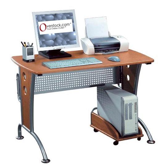 Deluxe Loft-style Computer Desk Workstation