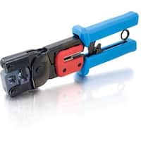 C2G RJ11/RJ45 Crimping Tool with Cable Stripper