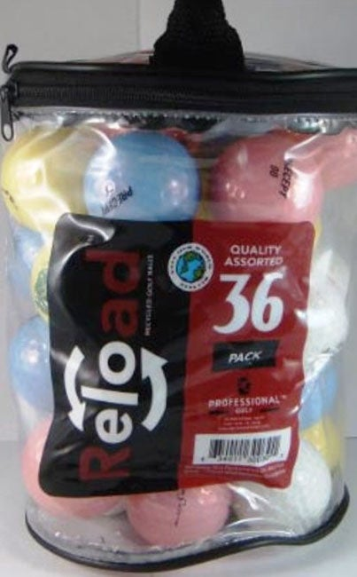 Recycled Precept Assorted Crystal Golf Balls (Pack of 72)