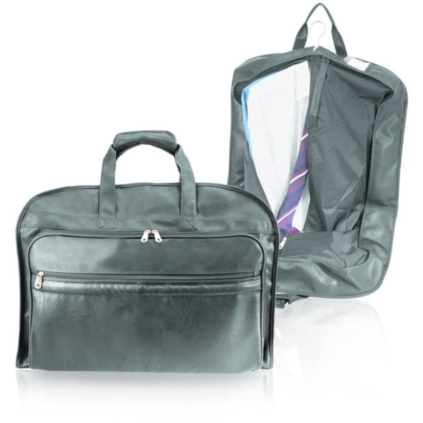 ce30cc71e1 Shop Koskin Man-made Leather Carry-on Garment Bag - Free Shipping On Orders  Over  45 - Overstock - 3175927