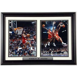 Michael Jordan/ LeBron James 12 x 18 Double Print - Thumbnail 0