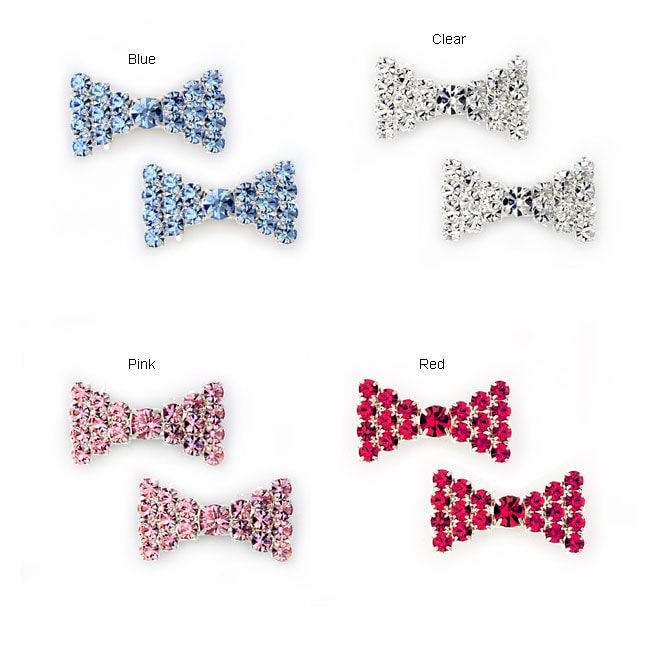 Bow Barrettes (Set of 2)