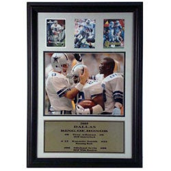 "Dallas Cowboys ""Ring of Honor"" Photo / Trading Card Frame"