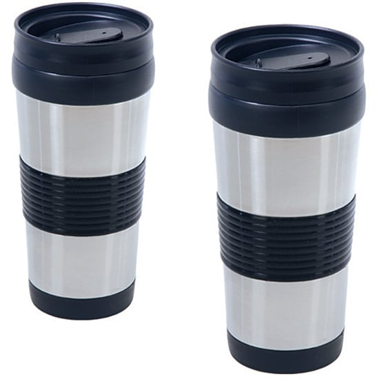 Two-piece 14-oz Travel Tumbler Set
