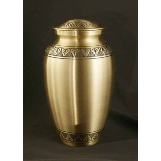 Athena Bronze Large/ Adult Brass Urn