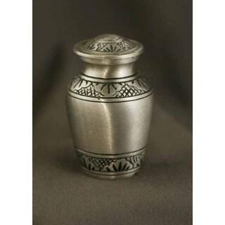 Athena Pewter Brass Keepsake Urn