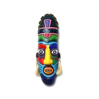 Rainbow Pirate Ceramic Mask
