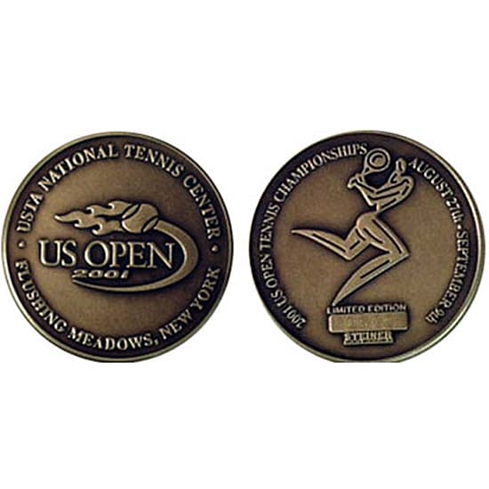 USTA 'US Open' Bronze Coin