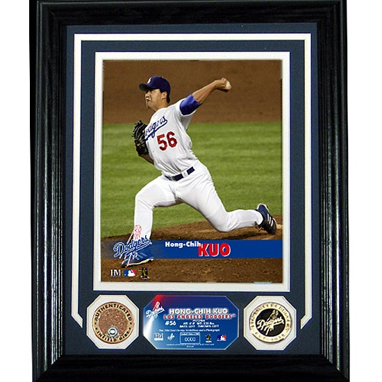 Los Angeles Dodgers Hong-Chih Kuo Framed Photomint Collage