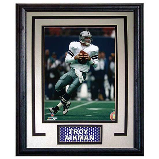 Troy Aikman 11x14 Deluxe Framed Print