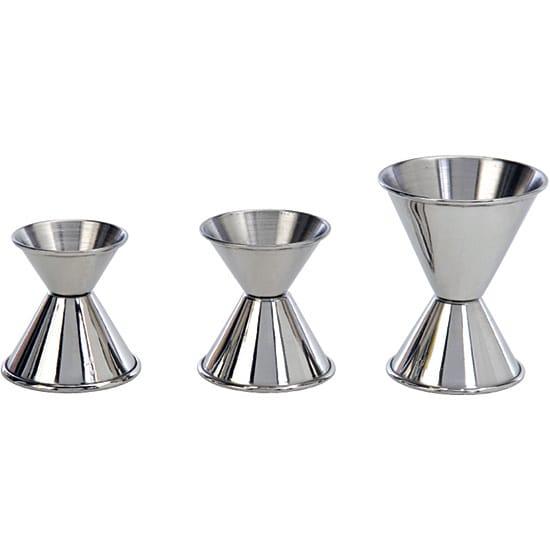 Stainless Steel 3-piece Jigger Set