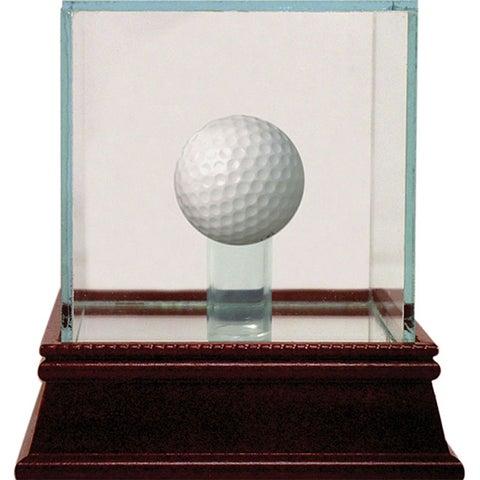 Glass Golf Ball Display Case