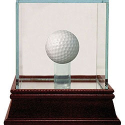 Glass Golf Ball Display Case