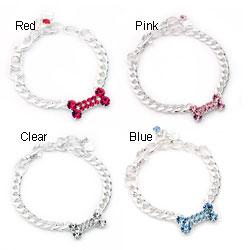 Petite Bone 6-inch Chain Collar