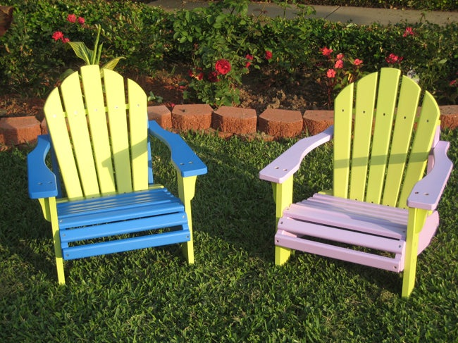 Shop Children S Adirondack Chair Free Shipping Today