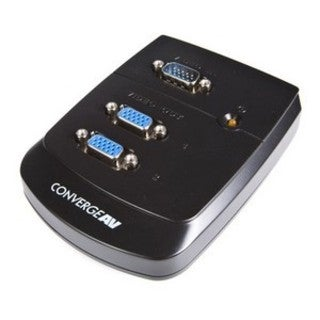 StarTech.com 2 Port Wall Mount VGA Video Splitter
