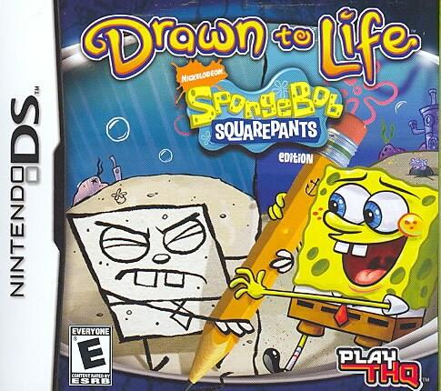 NinDS - Drawn to Life: SpongeBob SquarePants Edition