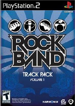 PS2 - Rock Band: Track Pack Volume 1