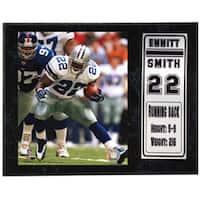 Emmitt Smith 12 x 15 Stat Plaque