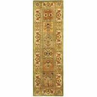 Safavieh Handmade Classic Empire Wool Panel Runner Rug - 2'3 x 10'