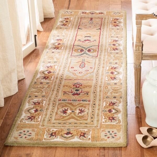 """Safavieh Handmade Classic Empire Wool Panel Runner (2'3 x 12') - 2'3"""" x 12'"""